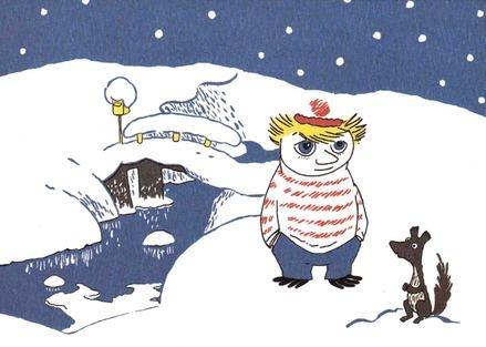 Tuu-Tikki ja talvinen silta - Perromania - pieni postikorttikauppa - Tuotteet