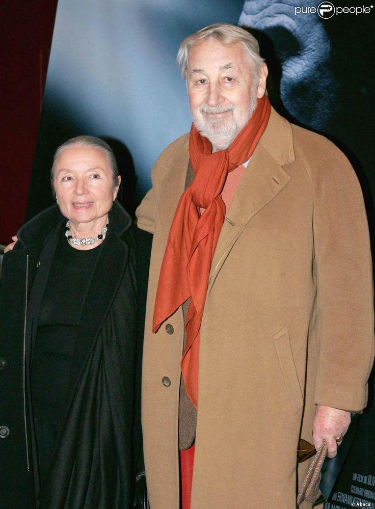 Monique Chaumette et Philippe Noiret