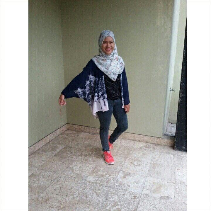 Cardi kimono #Hijabstyle#indonesia#nareswari.fashion