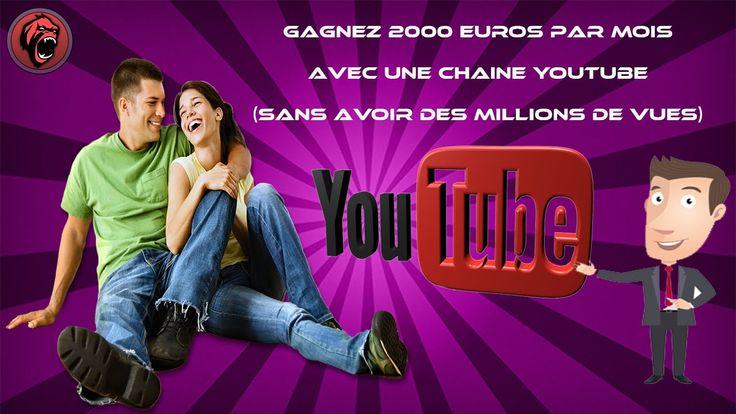 Gagnez 2000 euro avec une chaine Youtube (Aurélien Amacker)