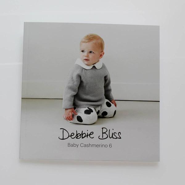 BABY CASHMERINO 6 - book of knitting patterns by Debbie Bliss – TUPPY'S AUSSIE FABRICS