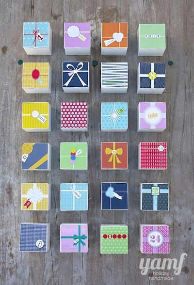 You Are My Fave diy advent calendar free printable boxes