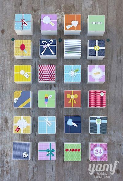 Creative Handmade Calendar : Creative homemade advent calendars things to make