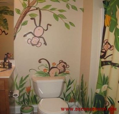 Monkey Themed Bathroom | Decor Advices   Home Decor