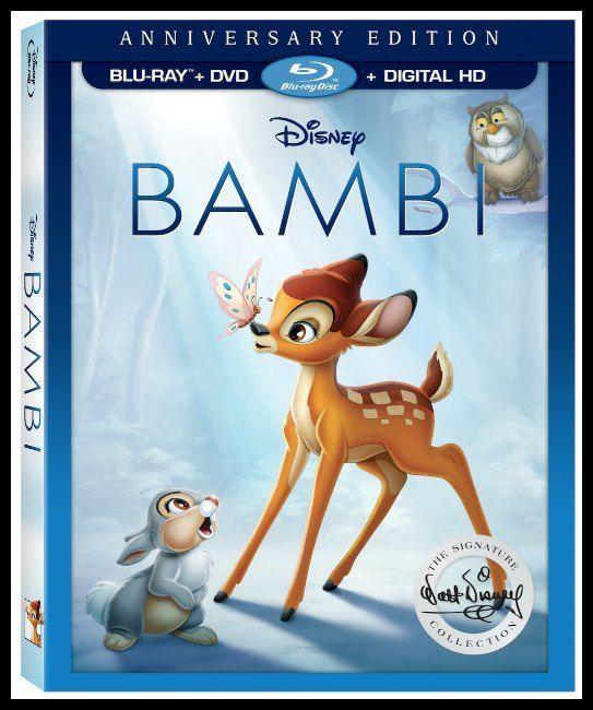 Bambi Celebrates Its 75th Anniversary on DVD/Blu-ray #DisneyAnimation
