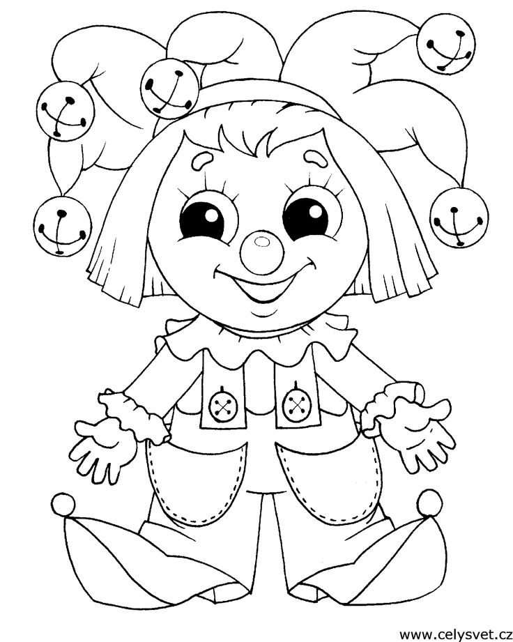 52 best Circus Coloring Pages images on Pinterest