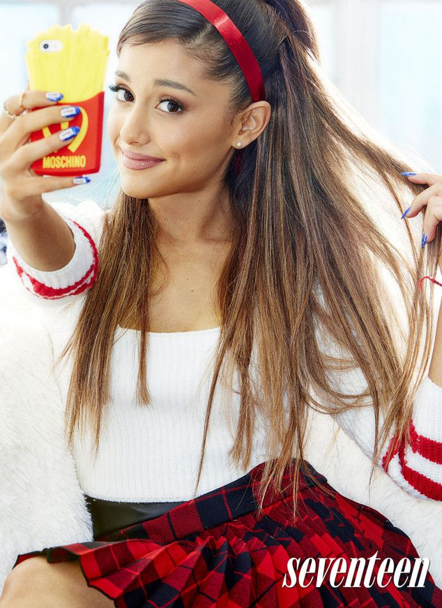 """Ariana Grande Covers Seventeen Magazine and Reveals She's """"Fallen Out of Touch"""" With Her Father Ariana Grande, Seventeen Magazine"""