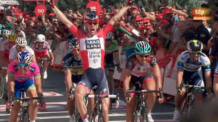Ver vídeo Vuelta ciclista a España 2013 - 6ª etapa: Guijuelo - Cáceres