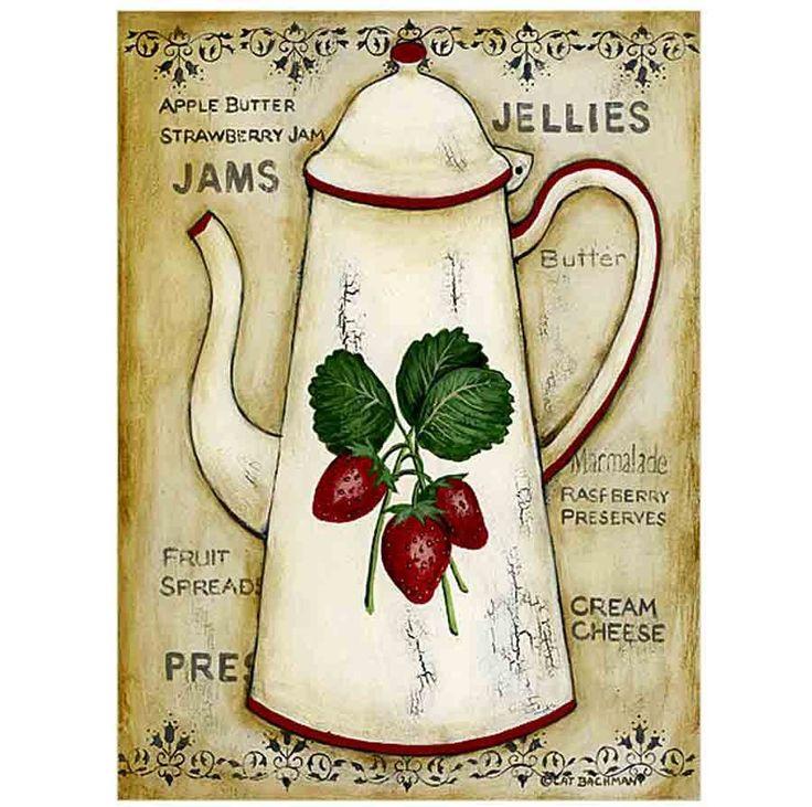 M s de 1000 ideas sobre servilletas de tela en pinterest - Laminas decorativas para cocinas ...