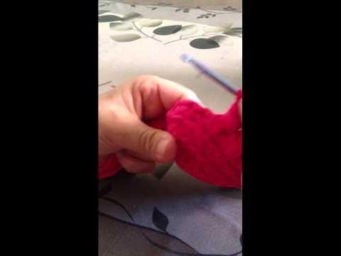 Tutorial 2 - Come realizzare una Pochette in fettuccia con Punto Spiga - YouTube