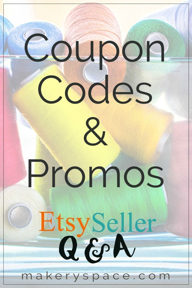 It's possible to offer Etsy coupon codes in conjunction with free shipping or other promotions if you follow these steps. | 31 Days of Etsy Seller Q & A with Melissa Kaiserman at Makery Space