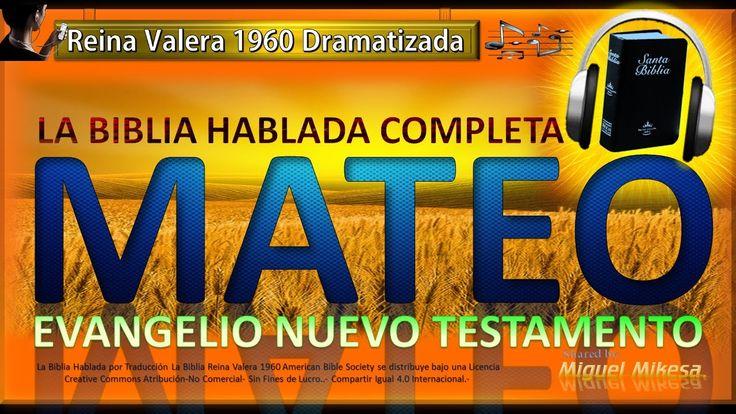 El Matrimonio La Biblia Reina Valera : La biblia hablada completa dramatizada mateo evangelio