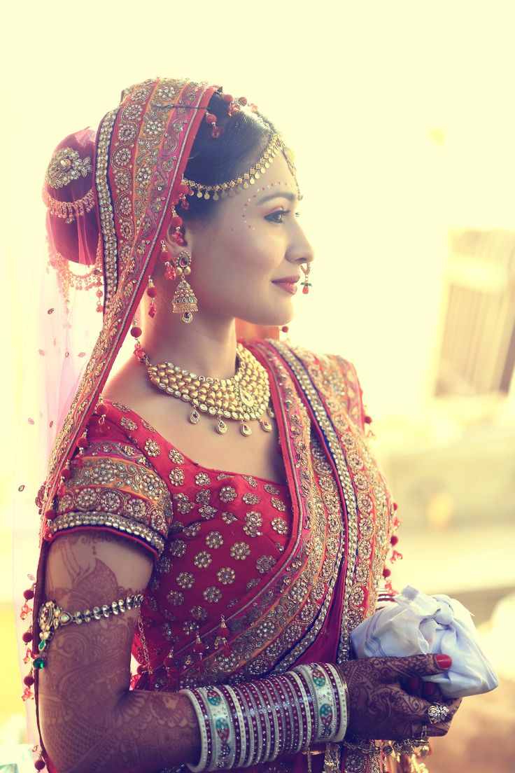 Beautiful Indian Bride, Ensemble ❤
