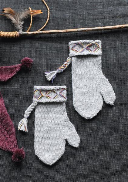 1502: Design 7 Votter #strikk #knit