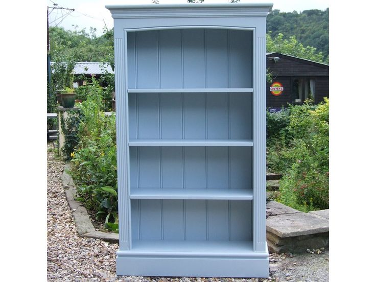 Painted Pine Bookcase with Adjustable ShelvesDimensions:1524mm Overall  Height 762mm Overall Width 285mm Overall Depth - 23 Best Painted Bookshelves Images On Pinterest Painted