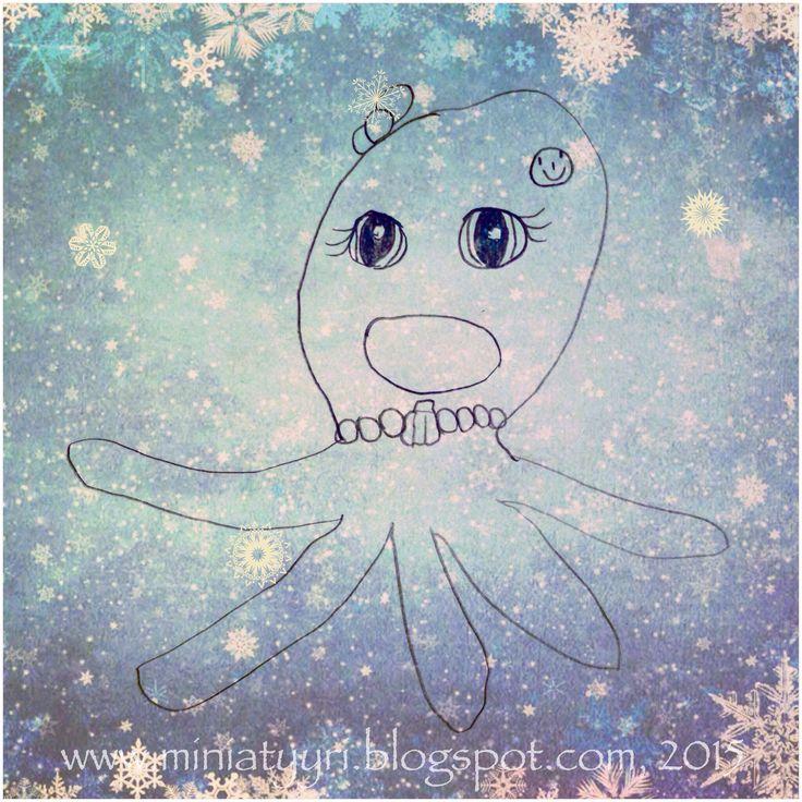 Jäätynyt mustekala - Frozen octobus