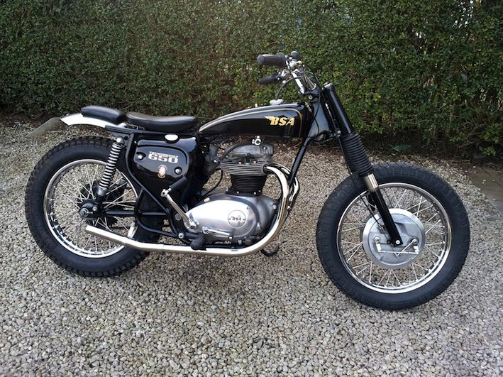 bsa trackers | ... this gorgeous road legal BSA street tracker. Here's what he says