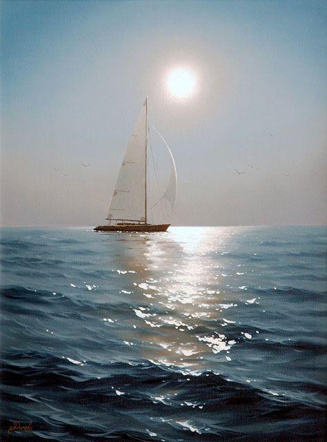 Алексей Адамов.Ты не можешь менять направление ветра, но всегда можешь поднять паруса, чтобы достичь своей цели.  Оскар Уайльд