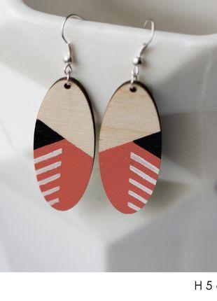 diy handmade earrings pastel etno minimalism geometric