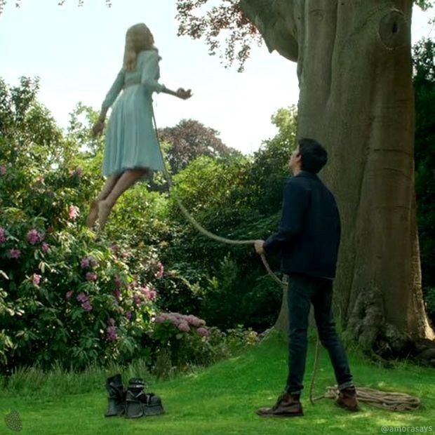O orfanato da stra Peregrine, dirigido por Tim Burton.