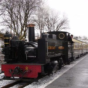 All aboard the mid Wales Santa Specials this December