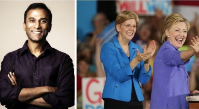 REAL INDIAN, GOP Senate Hopeful Shiva Ayyadurai Just Got Great News…FAKE INDIAN Elizabeth Warren Aligns Herself With Hillary Clinton In New Fundraising Email
