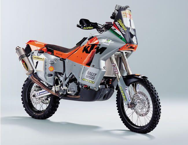 KTM 950 Dakar winner.