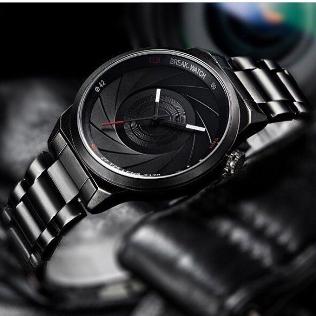 a diaphragm watch perfect complement for a photographer check it out at top photographer watch dm us for a creative casual mens dress watches fashion watches