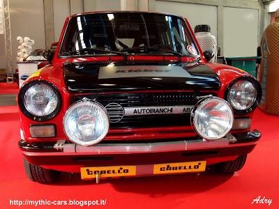 Auto mitiche a 112 abarth rally cars pinterest autos for Garage abarth paris