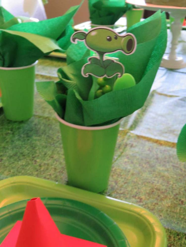 Plants vs Zombies Birthday Party Ideas | Photo 4 of 19