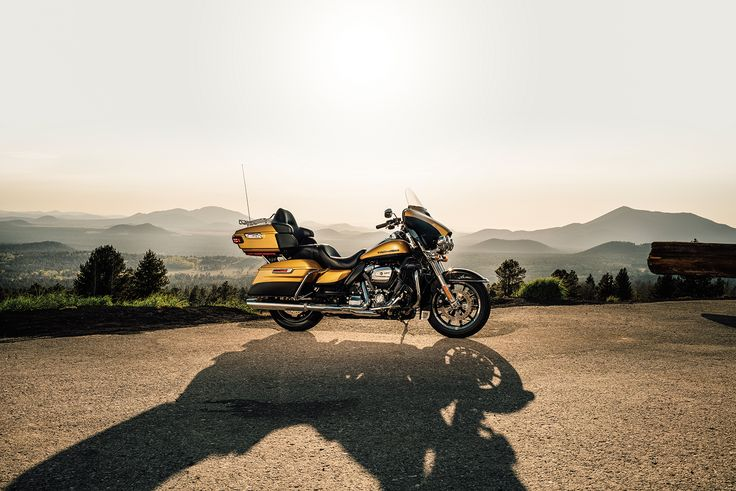 The new 2017 Harley-Davidson Ultra Limited with the #milwaukeeeight engine