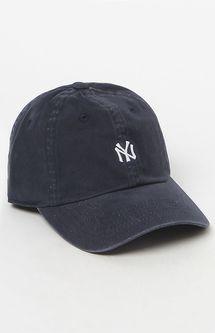 New York Yankees Washed Micro Baseball Cap