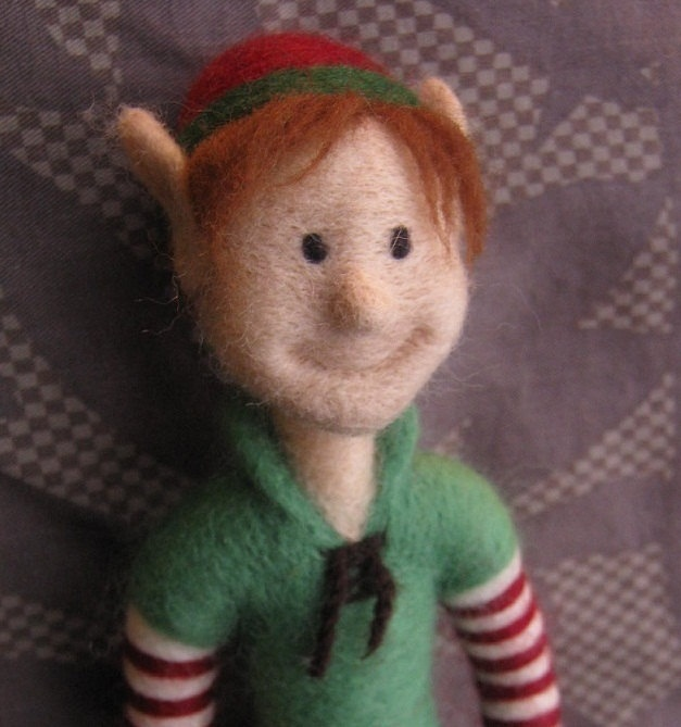 what a sweet face  christmas elf