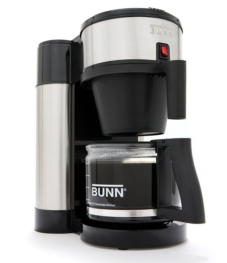 Bunn Velocity Brew 10Cup Stainless and Black Coffee Maker #Dillards