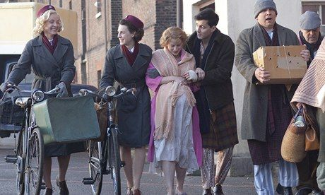 Call the Midwife star relishes a special delivery for Christmas