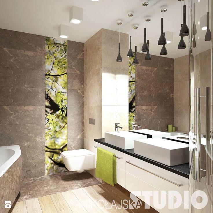 Elegancka łazienka Łazienka - zdjęcie od MIKOŁAJSKAstudio