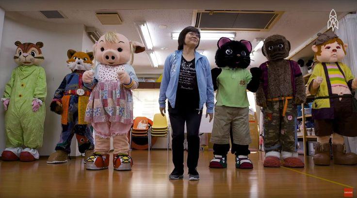 In Japan kan je een mascotte-opleiding volgen - NRC