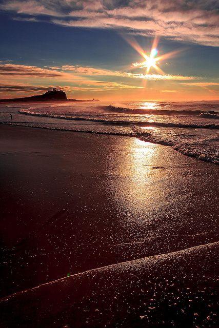 Brilliant Sunshine by Junni58 on Flickr.  Nobbys head Newcastle Australia