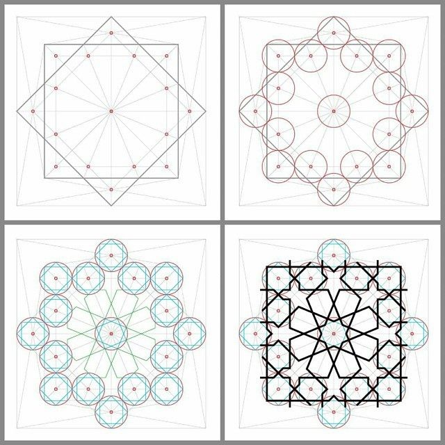 Islamic Geometry زخرفة هندسية إسلامية By Abdelhalimghodbane Abdelhalimghodbane Islamicarts Islamicpatte Islamic Patterns Islamic Art Pattern Islamic Motifs