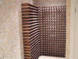Custom wine rack project 6