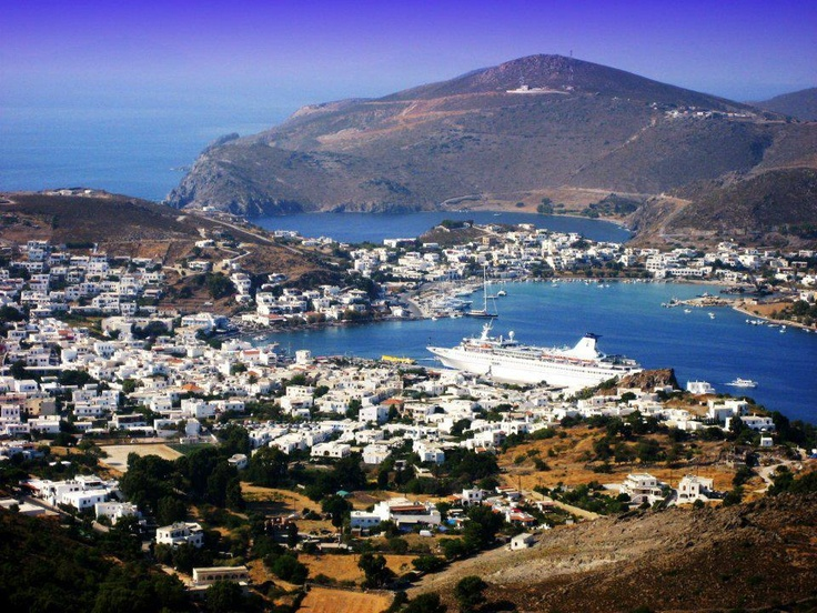 Patmos, the island was declared #Unesco national heritage monument in 1999