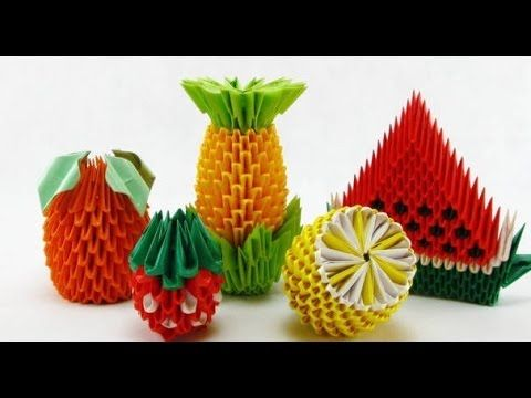 how to make 3d origami pieces faster