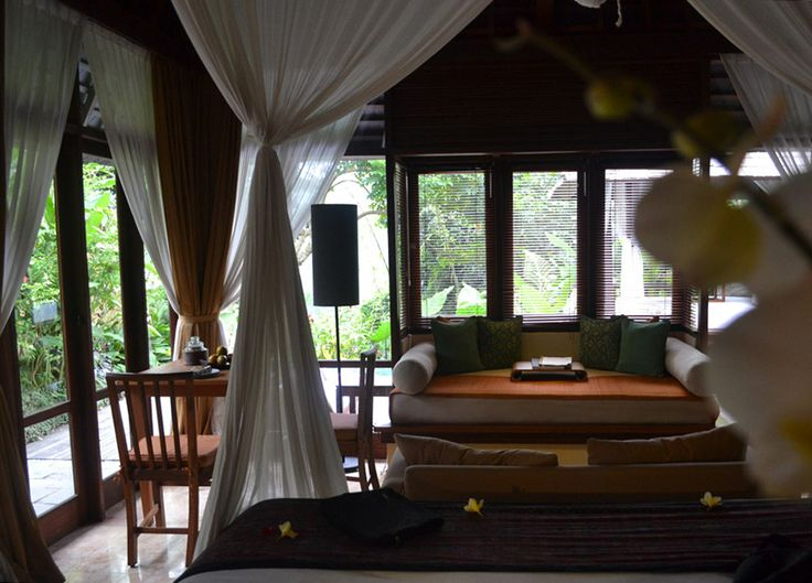 Luxury travel at the Komaneka Tanggayuda Ubud in Bali Indonesia with luxury pool villas. For more on Bali and travel in Southeast Asia check our travel blog: http://live-less-ordinary.com/