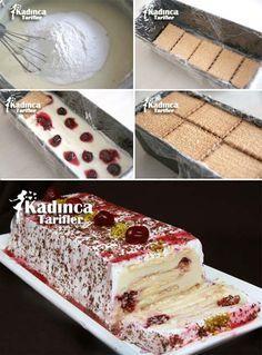 Kolay Bisküvili Pasta Tarifi Kadincatarifler.com - En Nefis Yemek Tarifleri Sitesi - Oktay Usta