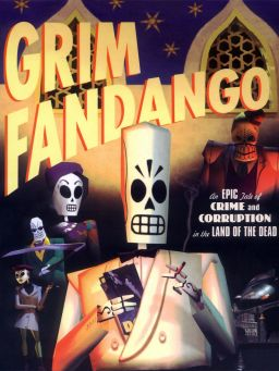 Grim Fandango | LucasArts -- The last great point and click adventure game. Brilliant in every possible way. The best game of all time!
