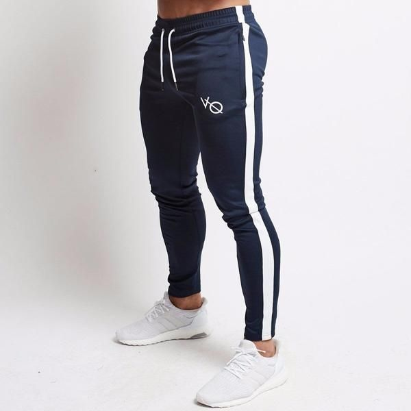 Men/'s Slim Fit Jogger Sports Gym Bodybuilding Running Track Trousers Sweatpants