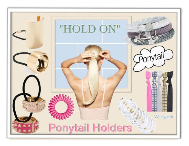 Hold On! by whirlypath on Polyvore featuring beauty, Marc Jacobs, Popband, Forever 21, L. Erickson, Invisibobble and Hershesons