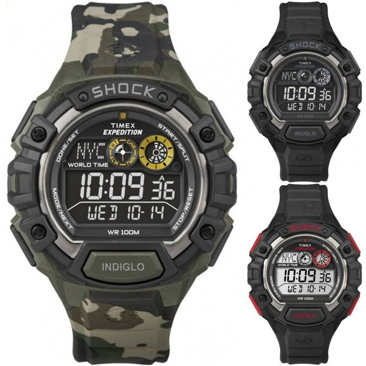 Us Map With State Abbreviations And Time Zones%0A Timex Mens Durable Outdoor Watch   Expedition Shock Global Time Zones    T
