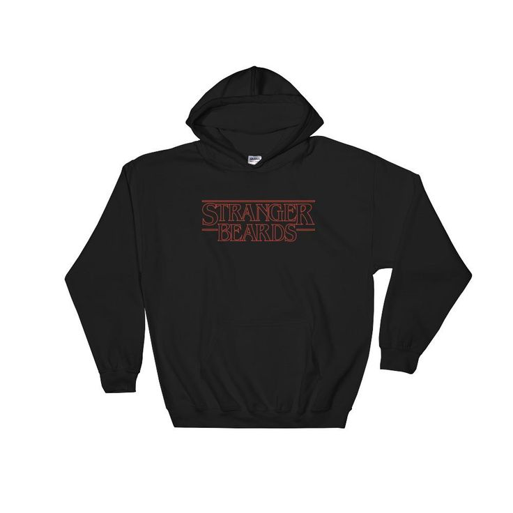 Stranger Beards H... is now available on BeefyTeez.com!  http://beefyteez.com/products/stranger-beards-hoodie?utm_campaign=social_autopilot&utm_source=pin&utm_medium=pin