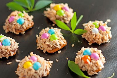 These are cute for Easter treats...and sound yummy, too!